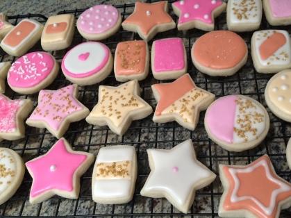 Girlie Sugar Cookies